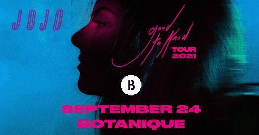 JoJo • Botanique (last tickets!), 24 September | Event in Brussels | AllEvents.in