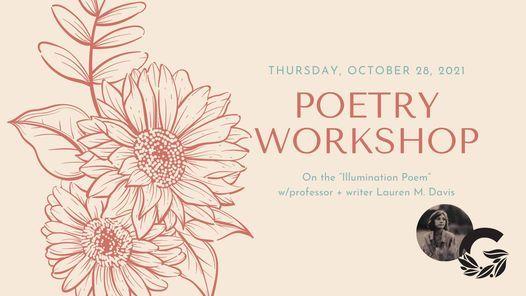 Illumination Poetry Workshop, 28 October | Event in Fort Wayne | AllEvents.in