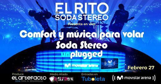 Soda Stereo Unplugged por El Rito | Event in Santafé De Bogotá | AllEvents.in