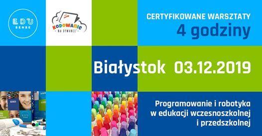 Biaystok - Programowanie i robotyka