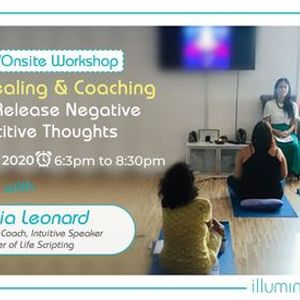 OnlineOnsite Workshop Group Healing & Coaching How To Release