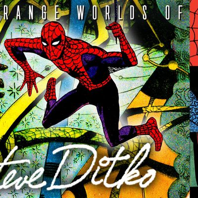 The Strange Worlds of Steve Ditko Comic Book Illustrator Webinar