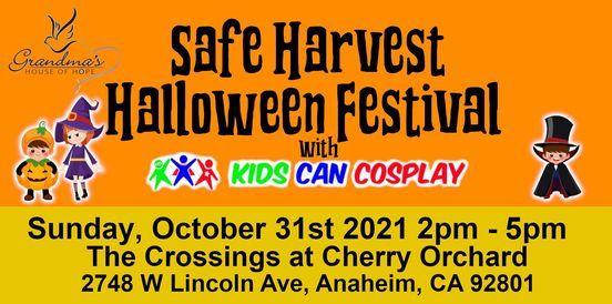 Safe Harvest Halloween Festival 2021, 31 October   Event in Anaheim   AllEvents.in