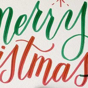 Holiday Card Workshop Brush Calligraphy and Fauxligraphy Lettering