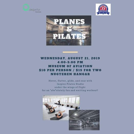 Planes Pilates At Museum Of Aviation Robins Afb Warner