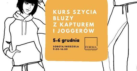 KURS SZYCIA BLUZY Z KAPTUREM I SPODNI TYPU JOGGERY (UNISEX), 5 December | Event in Poznan | AllEvents.in
