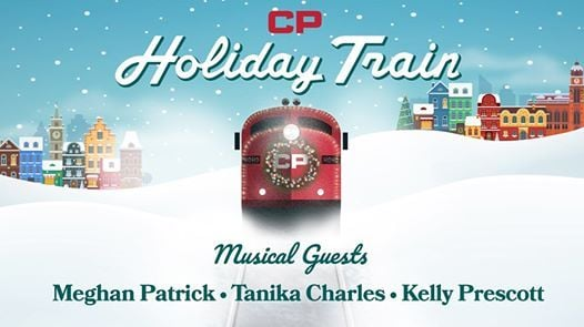 CP Holiday Train w Meghan PatrickTanika CharlesKelly Prescott