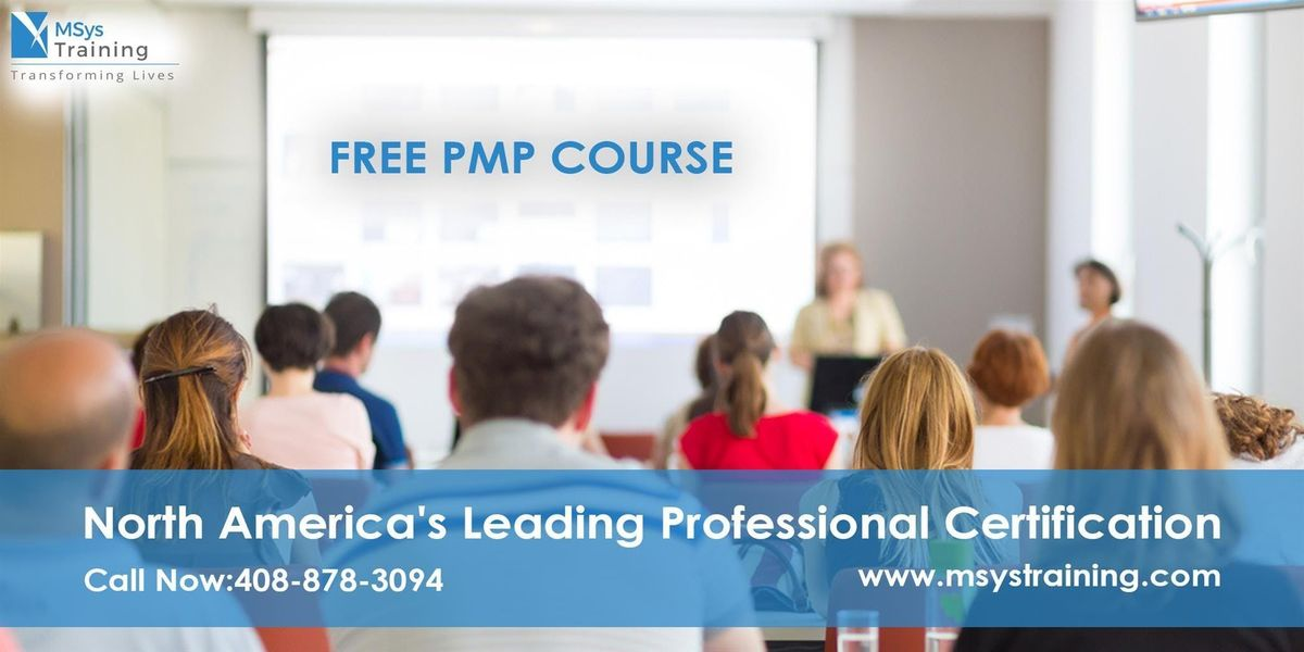 PMP (Project Management) Free Training Course in New York City NY