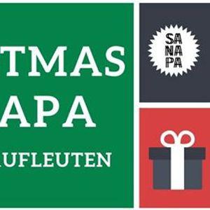 Sanapa vor Weihnachten