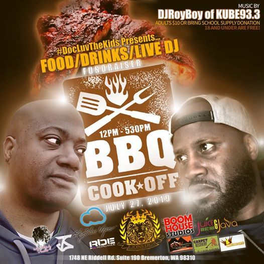 DocLuvTheKids Presents The 1st Annual BBQ CookOFF Fundraiser