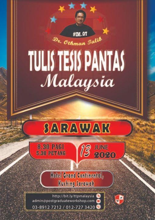 Penulisan Tesis Pantas dan Pengurusan Artikel Mendeley (Sarawak)