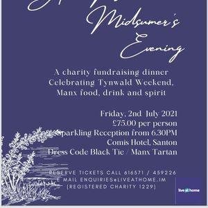 A Manx Midsummers Evening Charity Fundraising Dinner