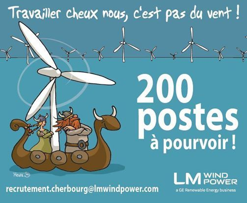 Job Dating LM Wind Power Cherbourg ! at Hôtel Le Cercle