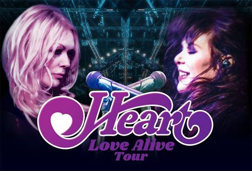 Heart  Love Alive Tour - West Palm Beach