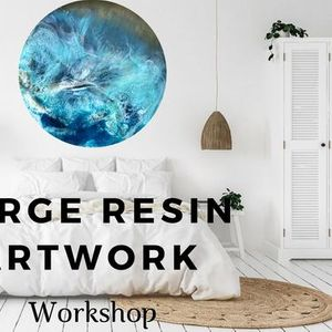 Large Resin Artwork Class