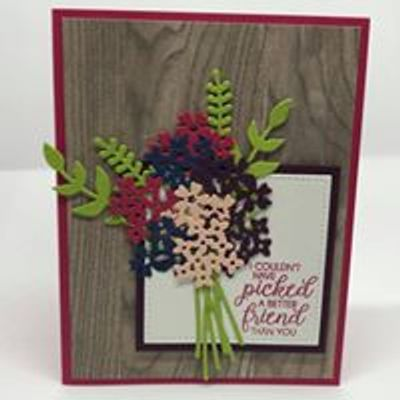Stampin with Jen
