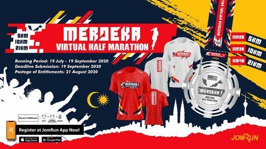 Merdeka Virtual Half Marathon - Malaysia