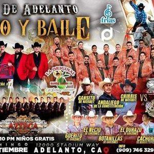 Gran Jaripeo Baile - Los Rieleros del Norte  Yndio Banda Real Azteca  La Original Banda El Limn