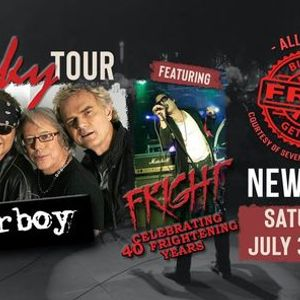 The Get Lucky Tour Loverboy with special guest Fright  JULY 3th 2021