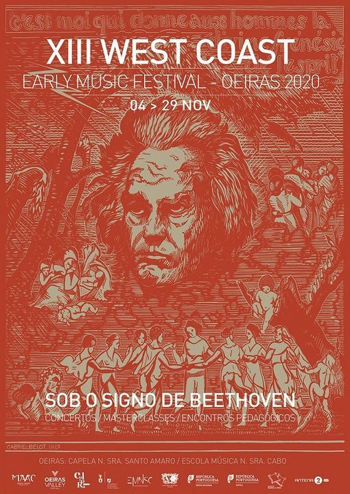 Salão Beethoven - XIII West Coast Early Music Festival Oeiras, PORTUGAL, 28 November   Event in Oeiras   AllEvents.in