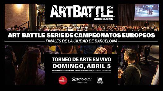 Art Battle Finales de la Ciudad de Barcelona Se pospone