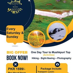 One Day Tour to Mushkpuri Top