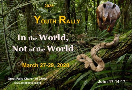 2020 GF Youth Rally In the World Not of the World