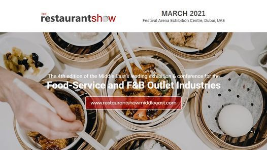 The Restaurant Show 2021, 22 March | Event in Dubai | AllEvents.in