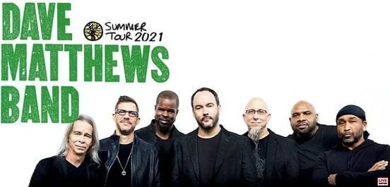 Dave Matthews Band Summer Tour, 22 September   Event in Southaven   AllEvents.in