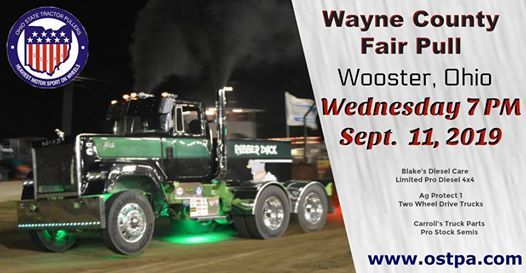 Wayne County Fair Pull Wednesday | Wooster
