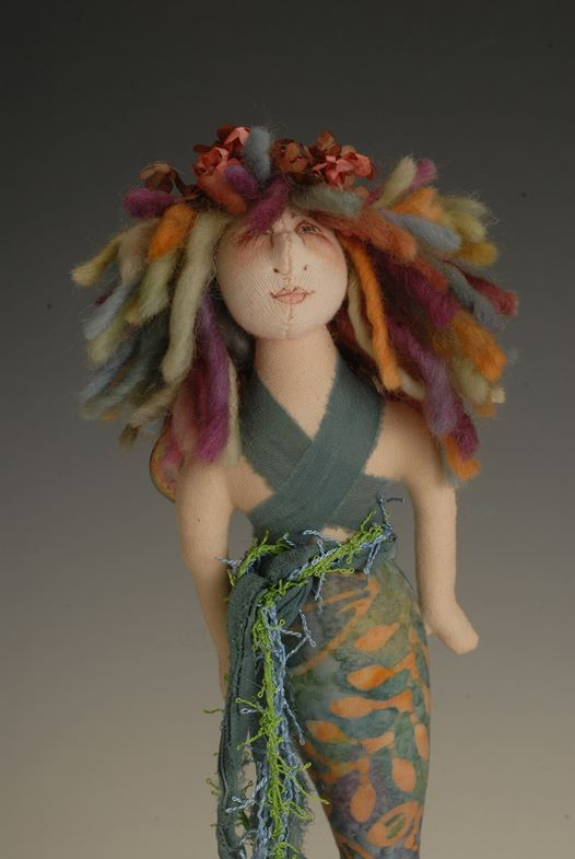 Crafting w Southern Highland Craft Guild Little Fairy Mermaid