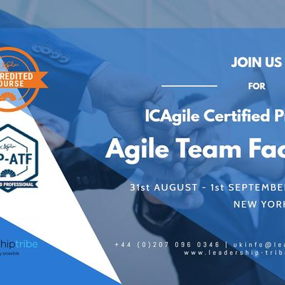 Agile Team Facilitation (ICP-ATF)  New York- August 2020