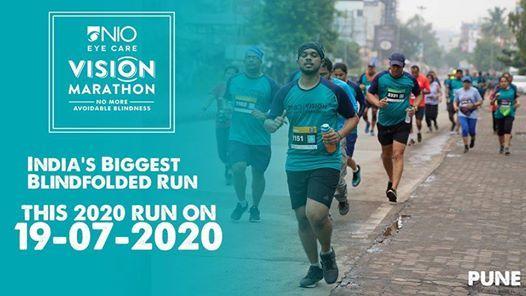 NIO Vision Marathon - 6th Edition -Largest blindfolded Run