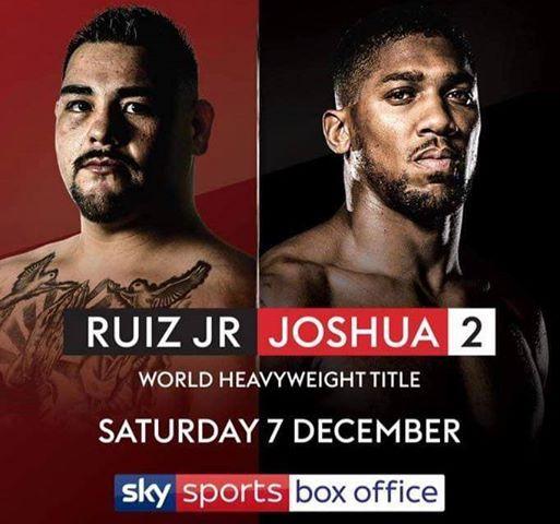 Ruiz JR v Joshua 2