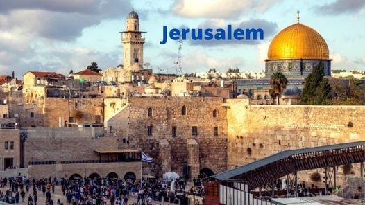 Virtual Tour: Old City of Jerusalem, 3 August | Online Event | AllEvents.in