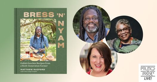 Matthew Raiford and Amy Condon | Bress 'N' Nyam with Dr. Jessica Harris | Online Event | AllEvents.in