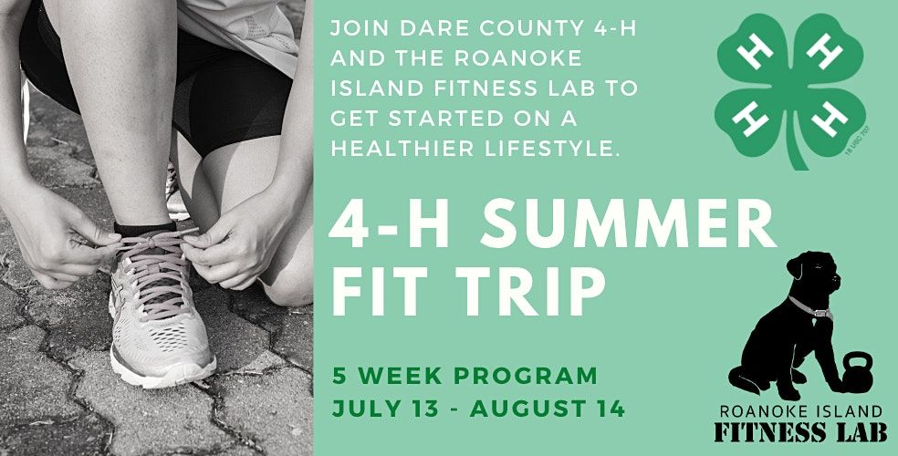 Dare County 4-H Summer Fit Trip
