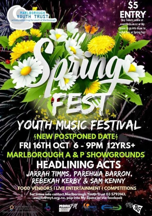 SpringFest 2020 - Youth Music Festival POSTPONED - 16th Oct