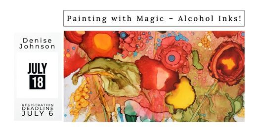 Painting with Magic - Alcohol Inks