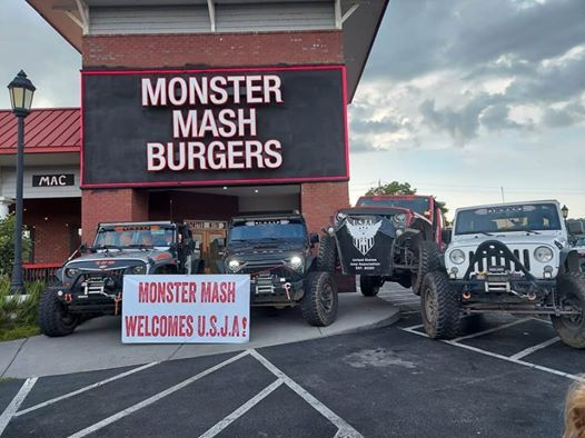 Jeep Invasion After Party At Monstermash Burgers Sevierville