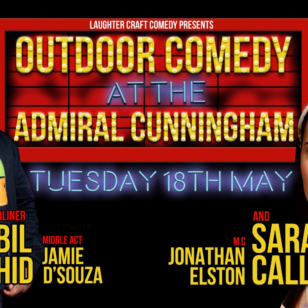 Outdoor Comedy at the AC, 18 May | Event in Bracknell | AllEvents.in