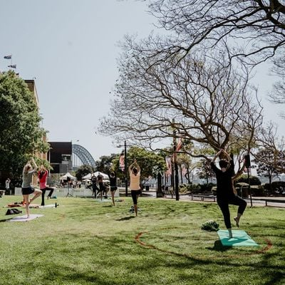 Outdoor Pilates with MORE BODY