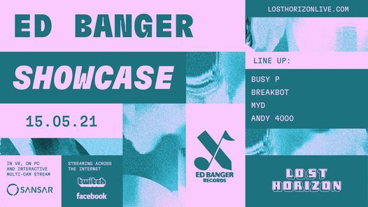 Lost Horizon presents Ed Banger Records Showcase, 15 May   Event in Croydon   AllEvents.in