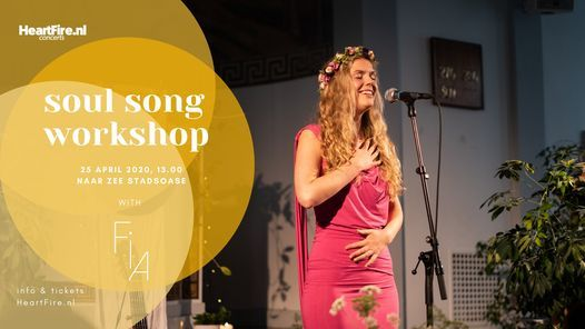 Soul Song  A Workshop with Fia in Amsterdam (SOLD OUT)