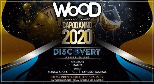 Capodanno 2020 At Wood Roma Velletri