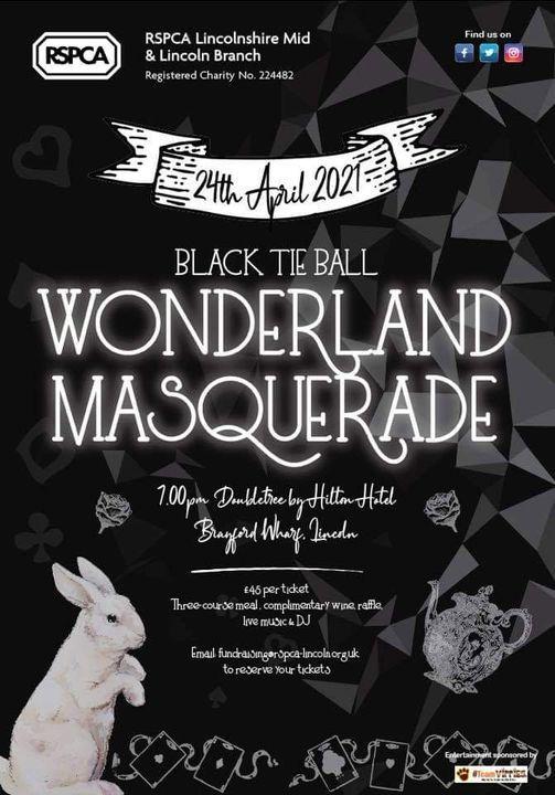 Wonderland Masquerade Black Tie Ball, 2 October | Event in Lincoln | AllEvents.in