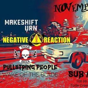 Negative Reaction Pullstring People Makeshift urn & Yigga Digga