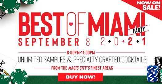 Miami New Times Best of Miami Party, 8 September   Event in Miami   AllEvents.in