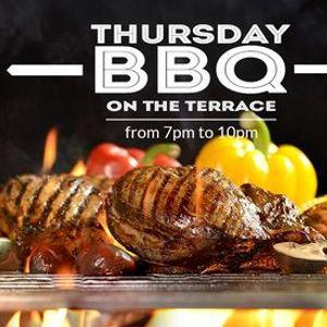 Thursday BBQ on the Terrace