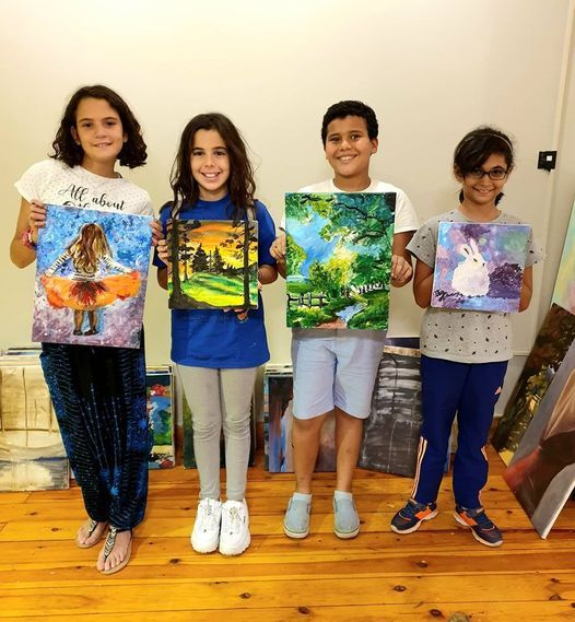 Junior Art Course (16 Hrs), 31 July | Event in Cairo | AllEvents.in